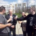 Oficjalne otwarcie fitnessu 23 kwietnia 2014r. - Prezydent Radomia. A. Kosztowniak