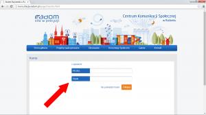 Wejdź ponownie na stronę http://konsultacje.radom.pl, kliknij po prawej 'Logowanie', a następnie wpisz swój PESEL oaz hasło które wpisałeś(-łaś) przy rejestracji.