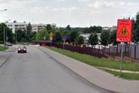 Wybudowanie zatoki parkingowej po prawej stronie jest celem projektu